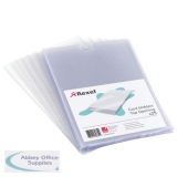 Rexel Nyrex Card Holder Open Top  127x76mm Clear (25 Pack) PGC531 12020