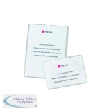 Rexel Card Holders Polypropylene A4 Clear (25 Pack) 12092