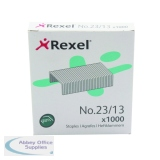 Rexel No. 23 13mm Heavy Duty and Tacker Staples (1000 Pack) 2101053