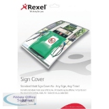 Rexel A4 Standard Matte Sign Cover (10 Pack) 2104252