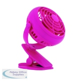 Rexel JOY 4 inch Pretty Pink Mini Desk Fan 2104407