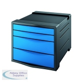 Rexel Choices Drawer Cabinet Blue 2115612