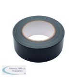 Black Waterproof Cloth Tape 48mmx50m RY07584