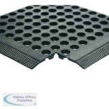 Rubber Black Worksafe Mat (3 Pack) 312476