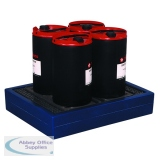VFM Blue Can Tray 4 Can Capacity 312733