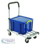 Folding/Extendable Trolley BP150 Black/Grey 317221
