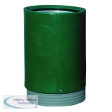 Green Outdoor Open Top Bin 75 Litre 321776