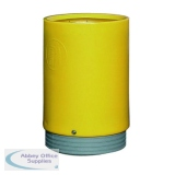 Yellow Outdoor Open Top Bin 75 Litre 321779