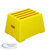 Yellow Plastic 1 Tread Safety Step 325094