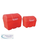 Red 200 Litre Fire Fighting Storage Bin Static 325901