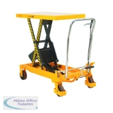 Lifting Table 300Kg Capacity Yellow/Black 329456