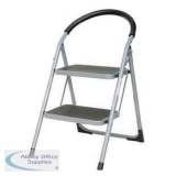 White 2 Tread Step Ladder 359293