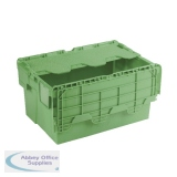 Green Attached Lid Container 54L 360330