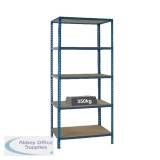 Medium Duty Bays Size 1200x600mm Blue Shelf 379626