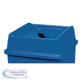 Top For Paper Recycling Bin in Blue 324127