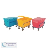Yellow Poly Lid For Sct1 Truck Bin 326067