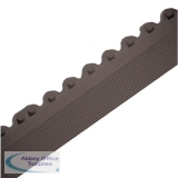 All-Purpose Male Bevel Black Anti-Fatigue Modular Mat 312410