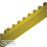 All-Purpose Male Bevel Yellow Anti-Fatigue Modular Mat 312411