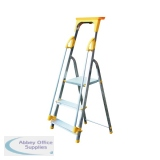 Aluminium Safety Platform Steps 3 Tread 405011