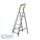 Aluminium Safety Platform Steps 5 Tread 405013