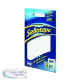 Sellotape Sticky Fixers Permanent 12 x 25mm (140 Pack) 1445422