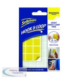 Sellotape Hook and Loop Removable Pads (24 Pack) 2055468