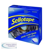 Sellotape Sticky Loop Spots (125 Pack) 1445181