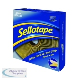 Sellotape Sticky Hook and Loop 6m Strip 1445180