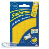 Sellotape Sticky Hook Pads (96 Pack) 1445170