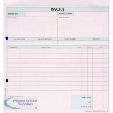 Custom Forms White/Pink 2-Part Invoice (50 Pack) HCI02