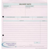 Custom Forms White/Pink 2-Part Delivery Note (50 Pack) HCD02