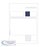 Custom Forms Sage 1-Part A4 Laser Invoices 90gsm (500 Pack) SE80S