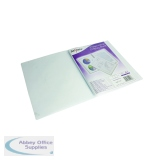 Snopake Superline Presentation Book 20 Pocket Polypropylene A4 Clear 11951