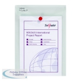 Snopake Clear A5 Portrait Polyfile P File Wallet (5 Pack) 13280