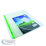 Snopake Bio2 A4 Clear Punched Pocket (25 Pack) 15439