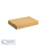 Carton With Lid 305x215x50mm Brown (10 Pack) 144666114