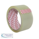 Sellotape Cellux Tape Economy General Purpose 48mmx50m Clear Ref 0857 [Pack 6]