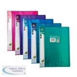 Concord Display Book Polypropylene 10 Pockets A4 Assorted Ref 7140-PFL [Pack 10]
