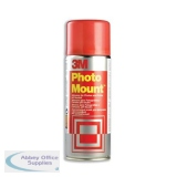 3M PhotoMount Adhesive Spray Can CFC-Free Non-Yellowing 400ml Ref PMOUNT