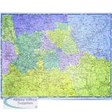 Wall Maps - County