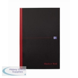 Black n Red Notebook Ruled Casebound 90gsm B5 Ref 400082917 [Free Coffee] Jan-Dec 2018