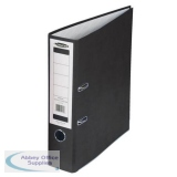 Concord Classic Lever Arch File Capacity 70mm A4 Black Ref C214046 [Pack 10] [Price Offer] Apr-Jun 2019