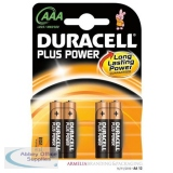 Duracell Plus Battery AAA Pack of 4 81275396