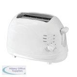 Igenix Toaster Cool Wall 2 Slice White Ref IG3001