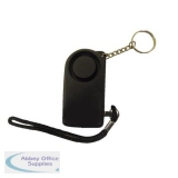 Mini Key Ring Alarm with Torch 130db Siren