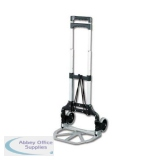 Lightweight Folding Sack Truck Telescopic Handle Capacity 60kg Foot Size W387xL279mm Ref LWFT/60