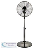 Desk and Pedestal Fan 2 in 1 Telescopic Pole 3 Speed