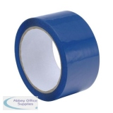 Polypropylene Tape 48mmx66m Blue Ref BLCP50 [Pack 6]