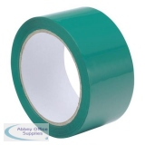 Polypropylene Tape 48mmx66m Green [Pack 6]