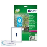Avery Durable Sign Self Adhesive 1 per Sheet 190x275mm Ref L7091-10 [10 Signs]